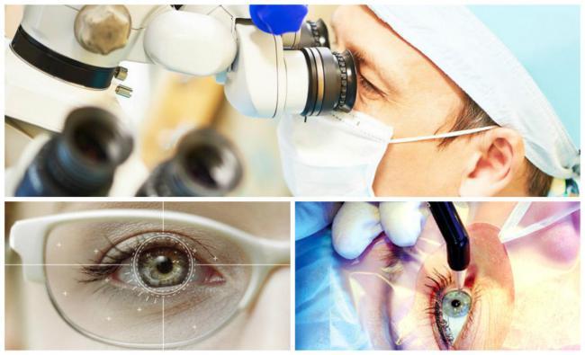 Клиники по восстановлению зрения